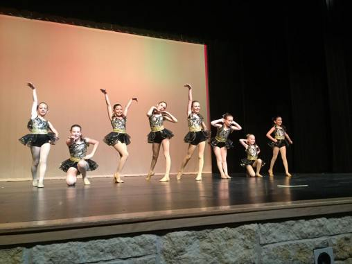 Amaze dance company of Center Stage in Leander performing at the recital.
