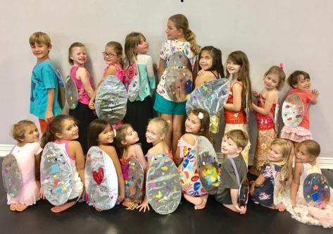 Dance campers at the Hawaiian Camp at Center Stage in Leander.